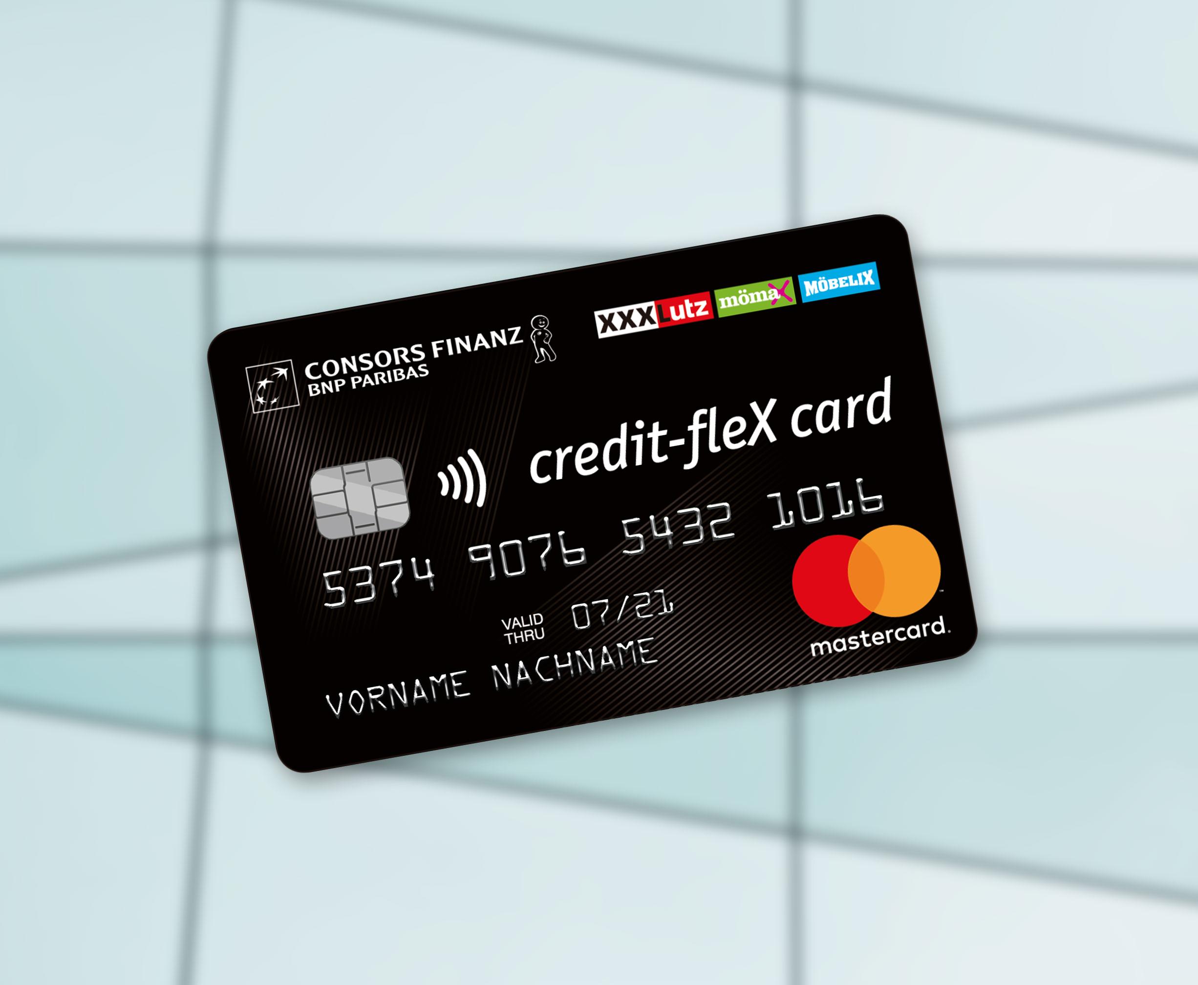 credit flex card kreditkarte zur finanzierung ihrer eink ufe paribas personal finance bnp. Black Bedroom Furniture Sets. Home Design Ideas